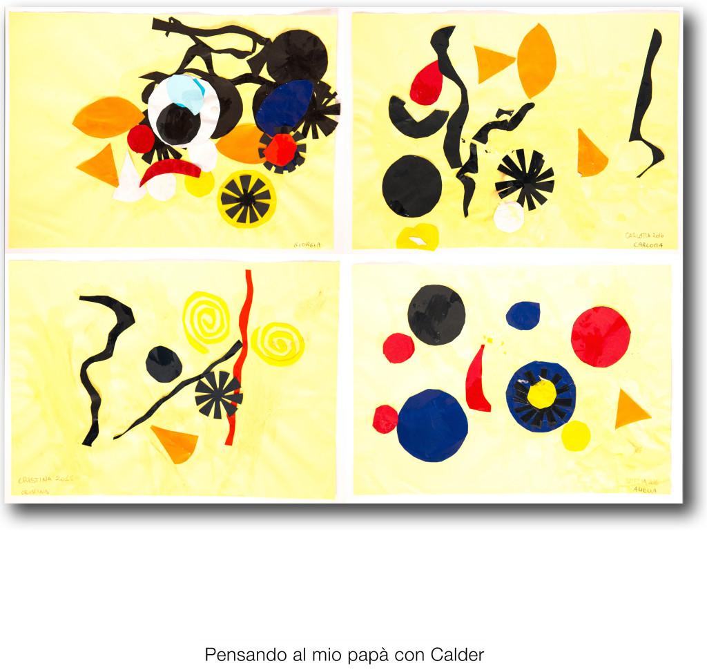 la casa dei bambini - Pensando al mio papà - Calder