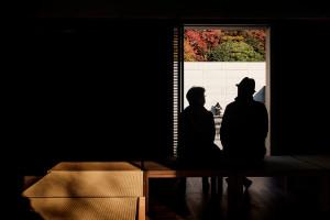 Autumn at the D.T. Suzuki Museum, Kanazawa